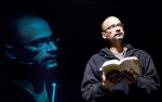 Junot Díaz reading in Prague, photo by Petr Machan, PWF 2011