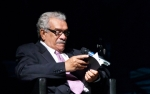 Derek Walcott in Prague, photo Petr Machan, PWF 2011