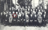Karel Poláček v 5. třídě základní školy v Rychnově nad Kněžnou