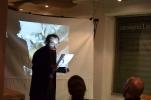 Jean-Baptiste Cabaud čte ze svých básní.