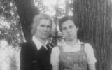 Natalia Gorbaněvská (vpravo) se svojí matkou Jevgenijí.