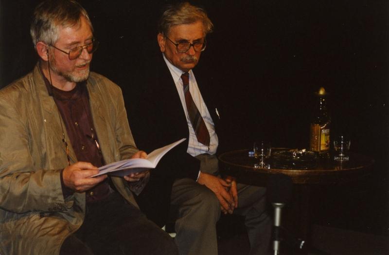 Ludvík Vaculík a Gerry Turner