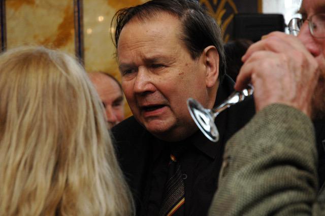 Jiří Kuběna při setkání s Edou Kriseovou