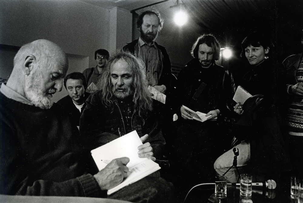 Lawrence Ferlinghetti na FSP 1998