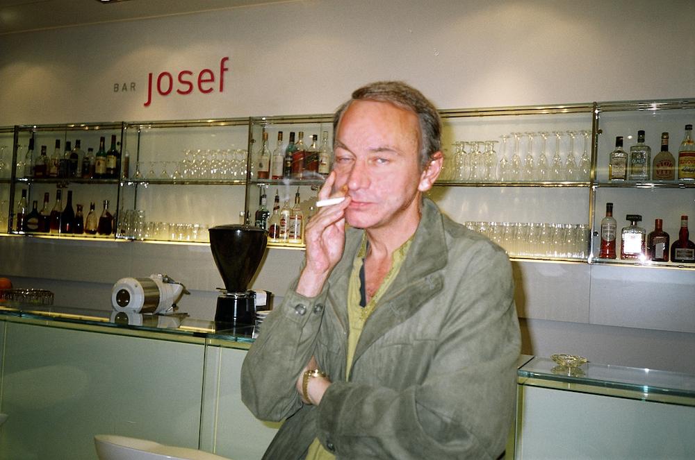 Houellebecq v hotelu Josef