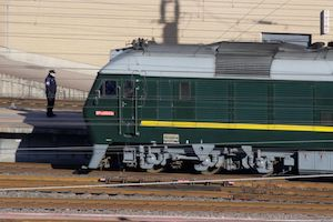 vlak Kim Čong-una