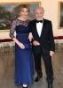 Karel Gott s manželkou Ivanou na předání cen Trebbia