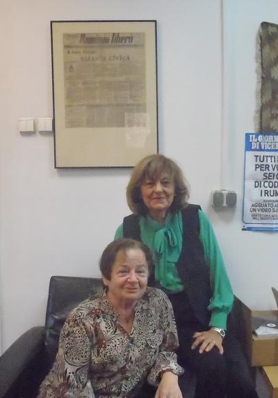Ana Blandiana a Libuše Valentová