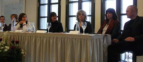 Irina Prokhorova, Kateryna Mishchenko, Ilma Rakusa, Ioana Gruenwald, Monika Sznajdermann