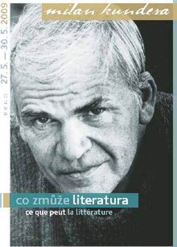 konerence Milan Kundera aneb Co zmůže literatura