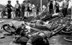 China_Bodies of dead demonstrators